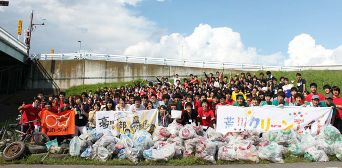 大学対校!ゴミ拾い甲子園