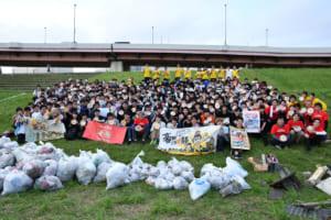 海洋プラごみ問題を大学生と企業が共に考える!! 令和初「大学対校! ゴミ拾い甲子園」活動レポート!
