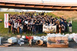 ゴミ拾いでONE TEAM!台風19号の影響でゴミ大散乱「第13回 大学対校! ゴミ拾い甲子園」活動レポート